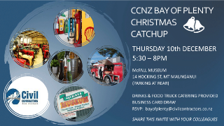 CCNZ BOP end of year 'Drinks & Nibbles'