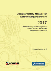 Operator Safety Manual for Earthmoving Machinery